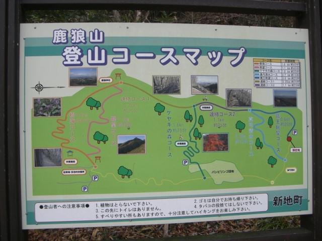 登山入り口マップ