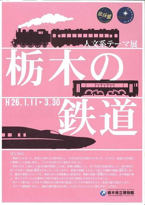 栃木県立博物館「人文系テーマ展 栃木の鉄道」へ!①