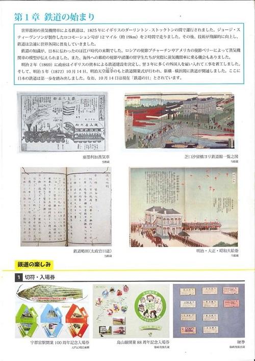 栃木県立博物館「人文系テーマ展 栃木の鉄道」へ!②