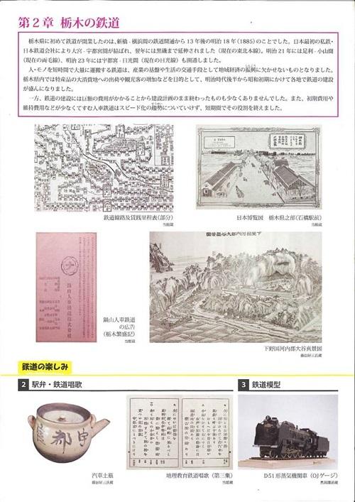 栃木県立博物館「人文系テーマ展 栃木の鉄道」へ!③