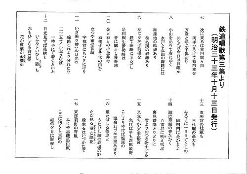 栃木県立博物館「人文系テーマ展 栃木の鉄道」へ!⑬
