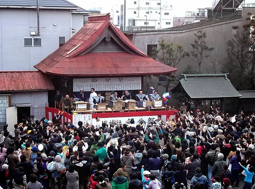今泉 八坂神社≪節分祭・追難式≫
