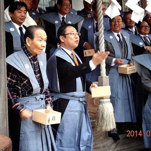 今泉 八坂神社≪節分祭・追難式≫続編②