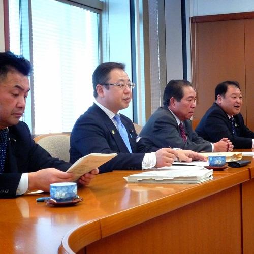 「栃木県 平成26(2014)年度 当初予算と政策推進に関する要望」申し入れ!