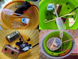 沢蟹水槽~濾過装置洗浄&用具いろいろ~w2011.12.09