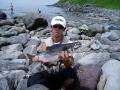 魚@釣り人間