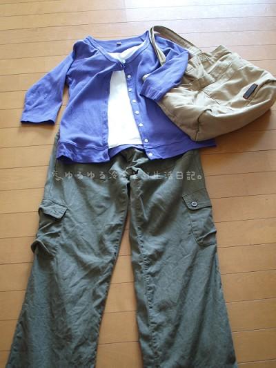 ある日の冷えとりファッション20111101